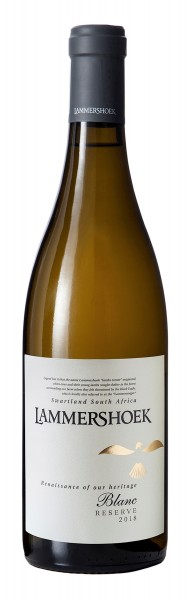 Renaissance of our Heritage Reserve Blanc 2018